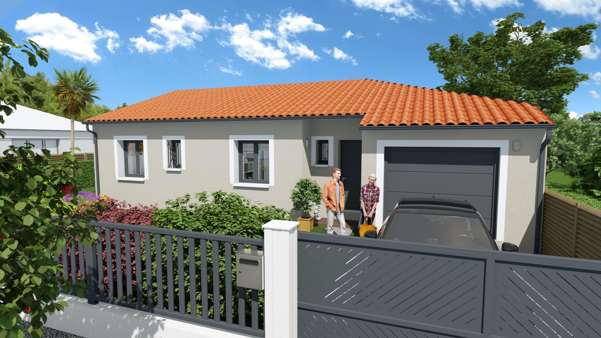 Maisons + Terrains du constructeur Maison Familiale Toulouse • 101 m² • VERNET