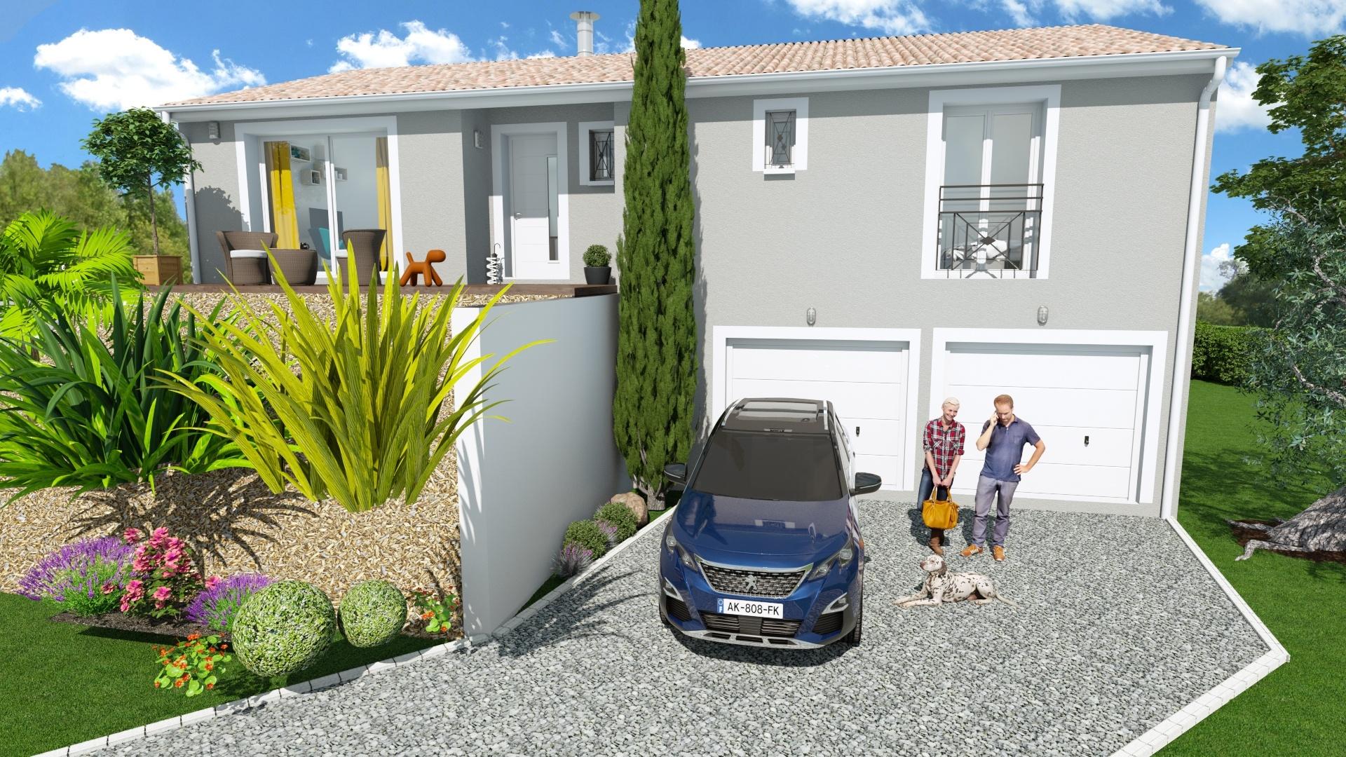 Maisons + Terrains du constructeur Maison Familiale Toulouse • 101 m² • MONTASTRUC LA CONSEILLERE