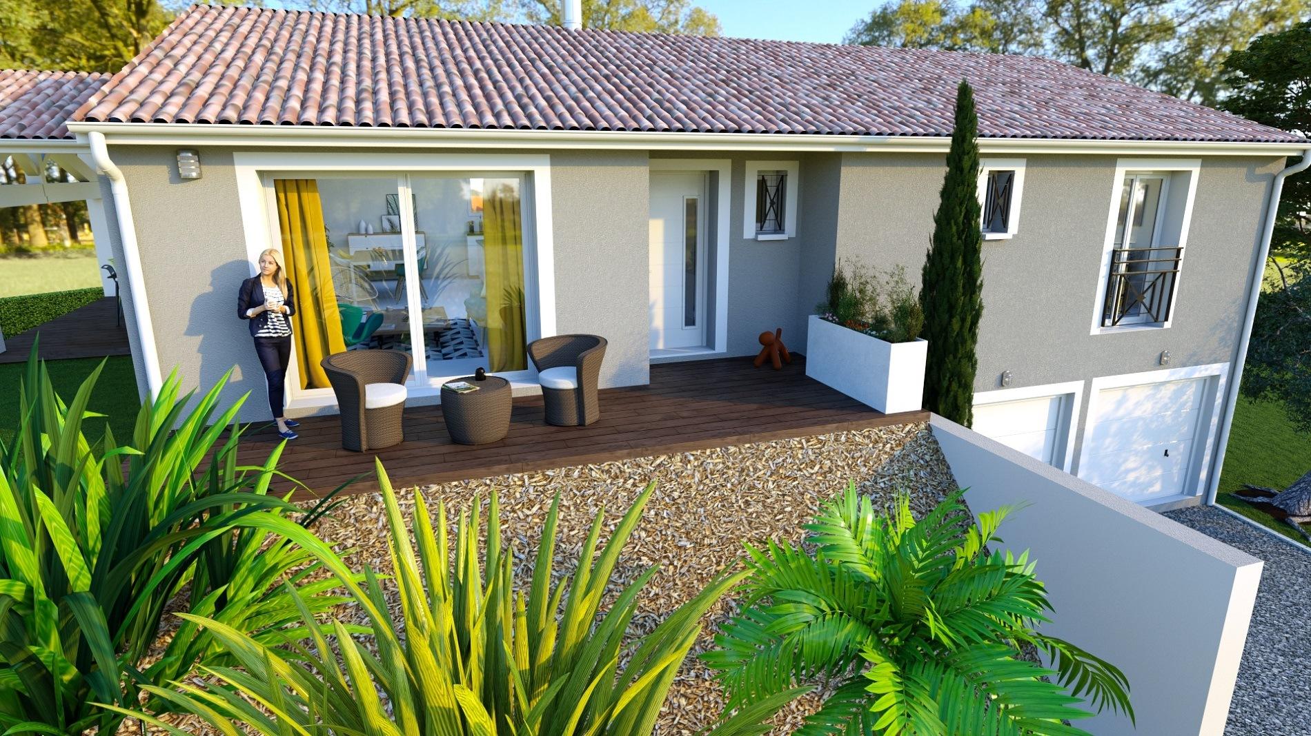 Maisons + Terrains du constructeur Maison Familiale Toulouse • 122 m² • MONTASTRUC LA CONSEILLERE