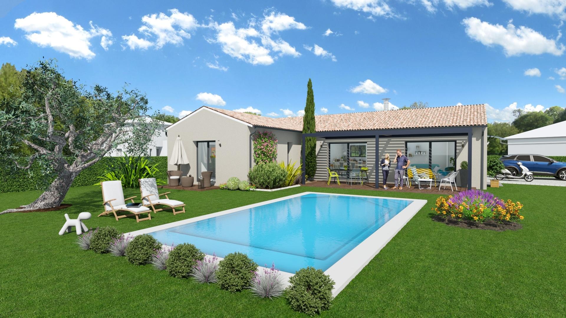 Maisons + Terrains du constructeur Maison Familiale Toulouse • 112 m² • GRENADE