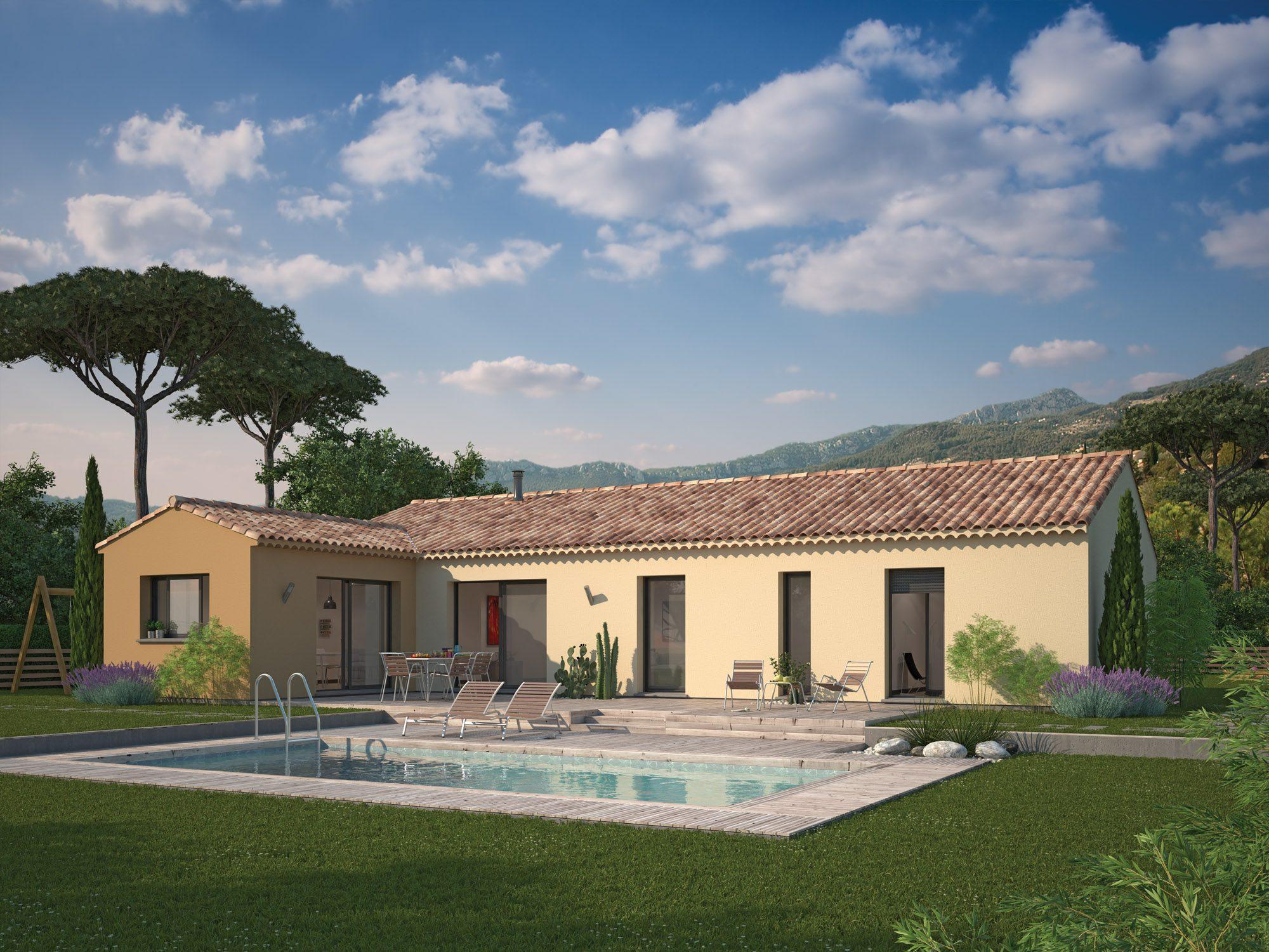 Maisons + Terrains du constructeur Maison Familiale Toulouse • 136 m² • DAUX