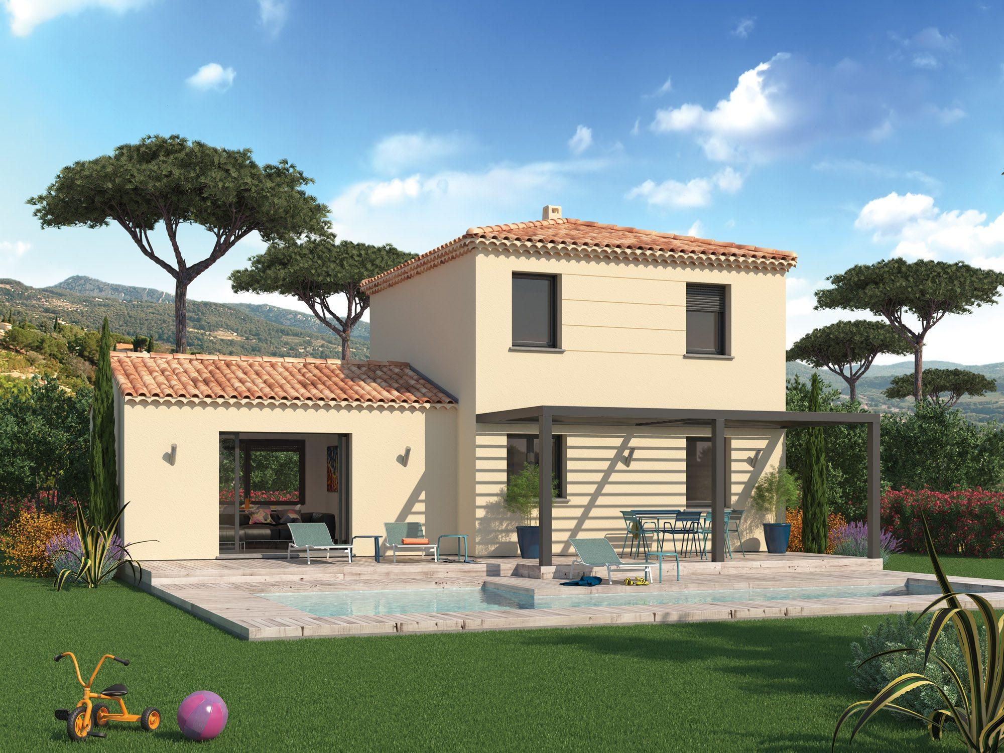 Maisons + Terrains du constructeur Maison Familiale Toulouse • 118 m² • TOURNEFEUILLE