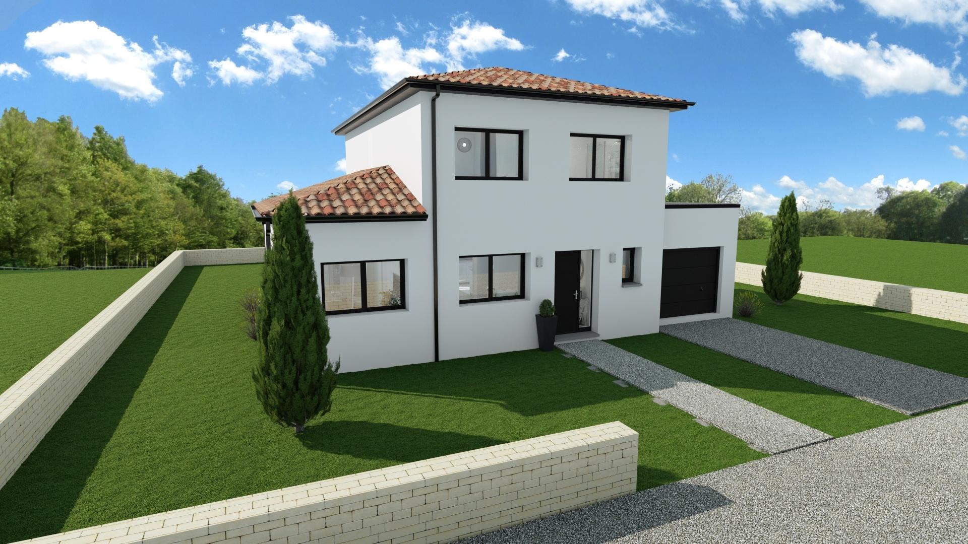 Maisons + Terrains du constructeur Maison Familiale Toulouse • 141 m² • FROUZINS