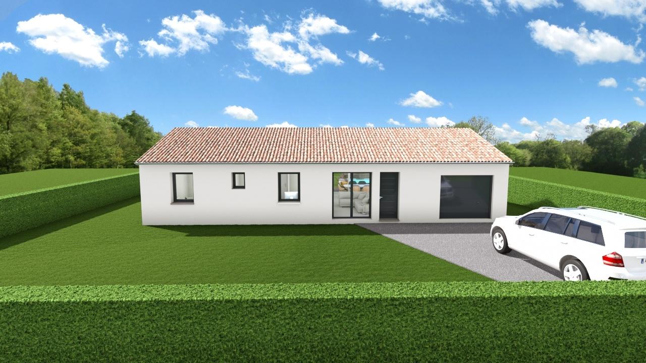 Maisons + Terrains du constructeur Maison Familiale Toulouse • 93 m² • CARBONNE