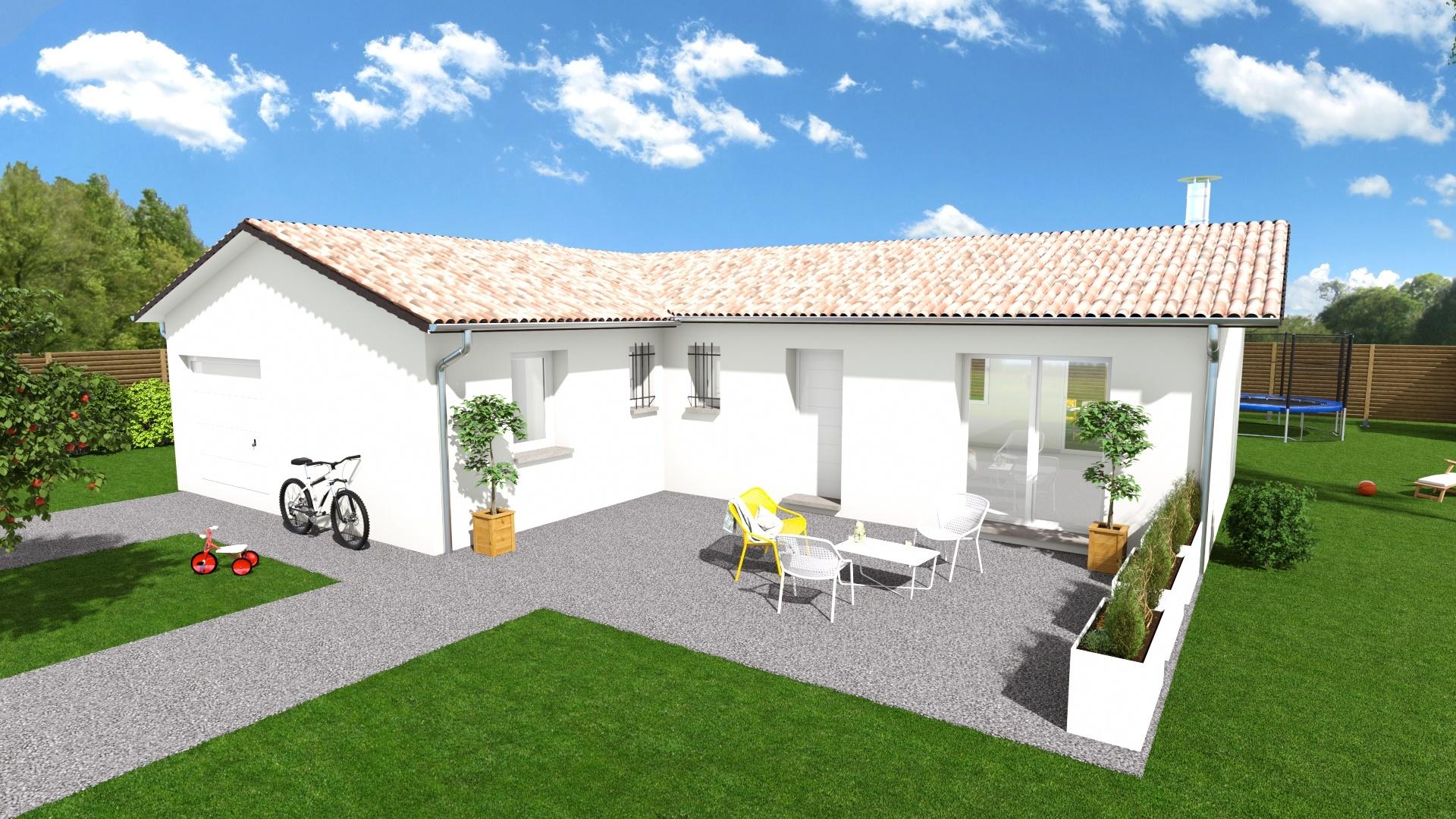 Maisons + Terrains du constructeur Maison Familiale Toulouse • 116 m² • BOURG SAINT BERNARD