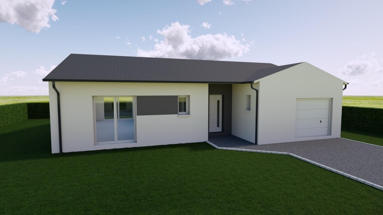 Maisons + Terrains du constructeur Maison Familiale Toulouse • 93 m² • BOULOC