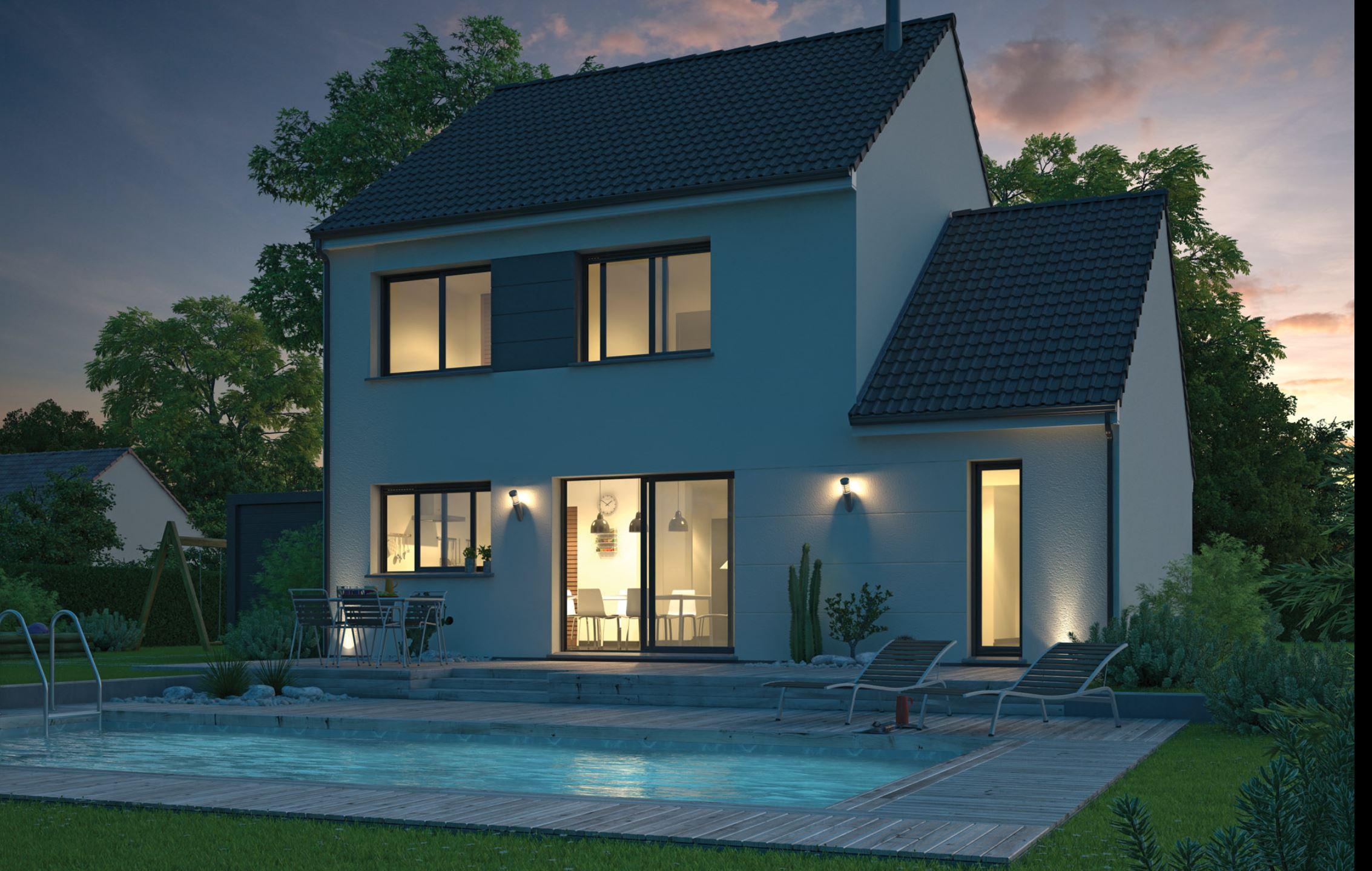 Maisons + Terrains du constructeur Maison Familiale Toulouse • 109 m² • MERVILLE