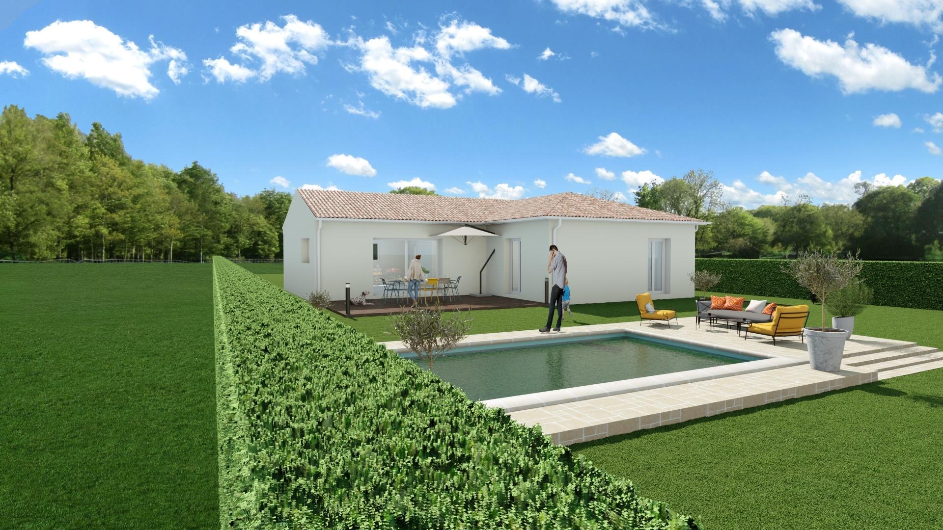 Maisons + Terrains du constructeur Maison Familiale Toulouse • 117 m² • CARBONNE
