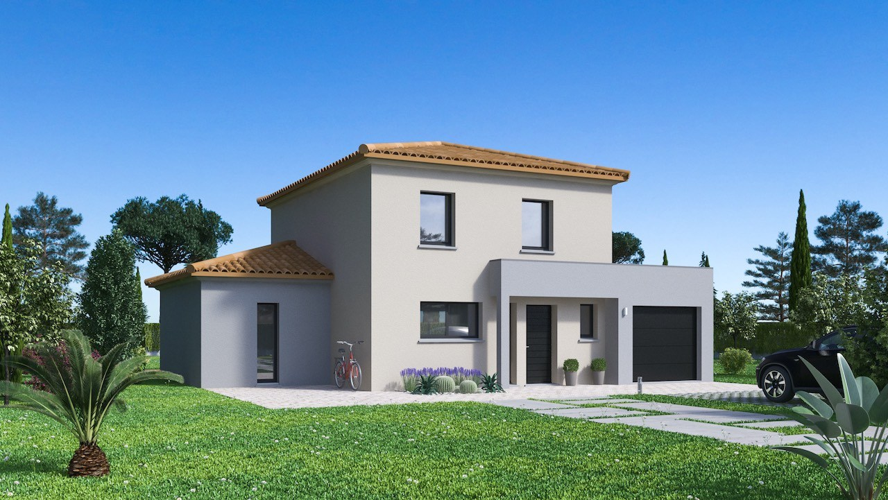 Maisons + Terrains du constructeur Maison Familiale Toulouse • 128 m² • LAUNAC