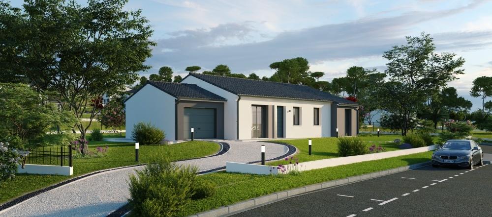 Maisons + Terrains du constructeur Maisons Phénix Toulouse • 119 m² • MARTRES TOLOSANE
