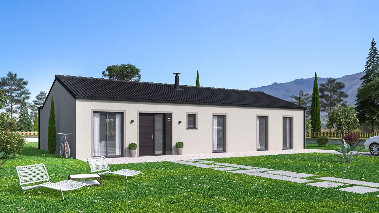 Maisons + Terrains du constructeur Maisons Phénix Toulouse • 137 m² • AURIGNAC