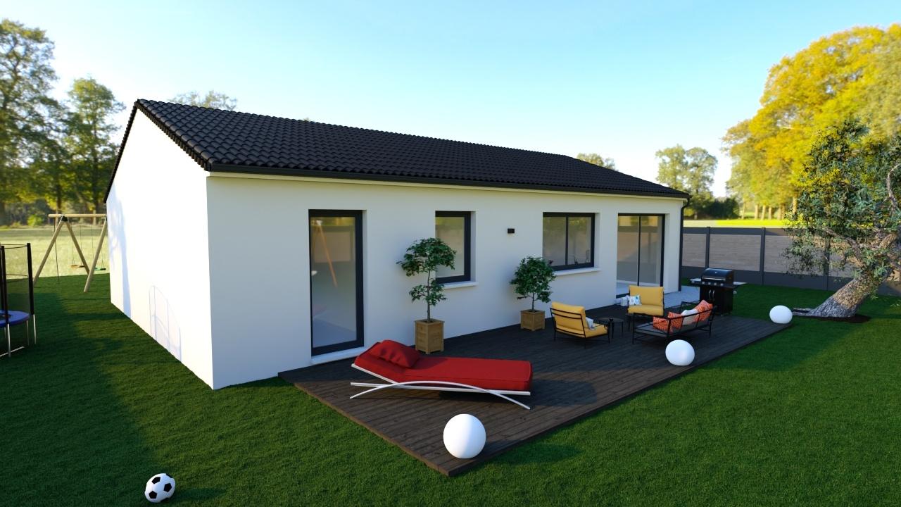 Maisons + Terrains du constructeur Maisons Phénix Toulouse • 105 m² • VILLENOUVELLE
