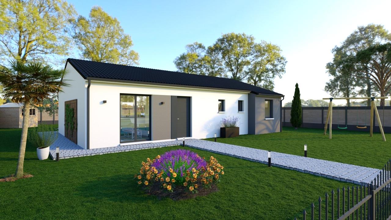 Maisons + Terrains du constructeur Maisons Phénix Toulouse • 105 m² • CASTELNAU D'ESTRETEFONDS