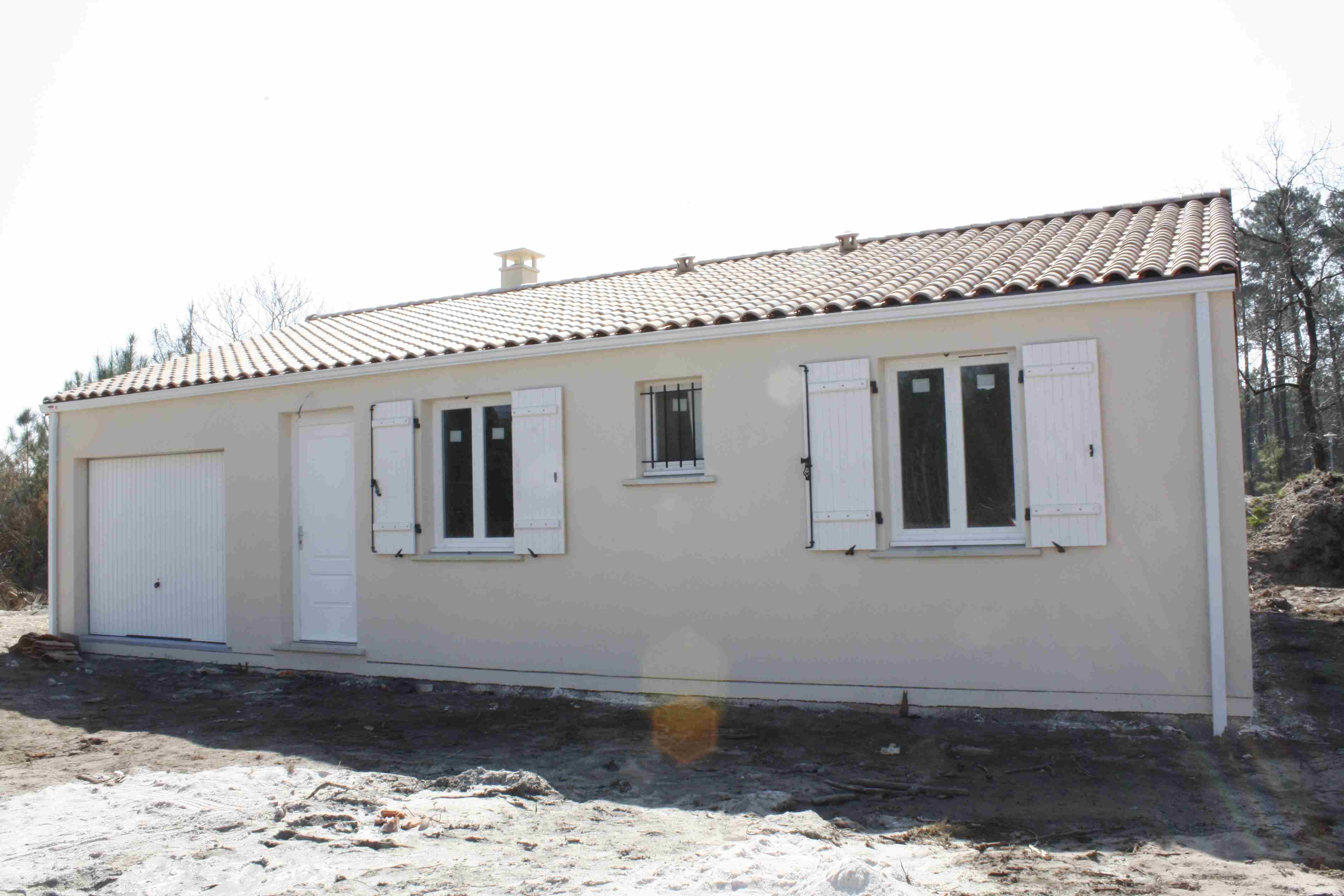 Maisons + Terrains du constructeur Maisons PHENIX Rochefort • 108 m² • BEAUGEAY