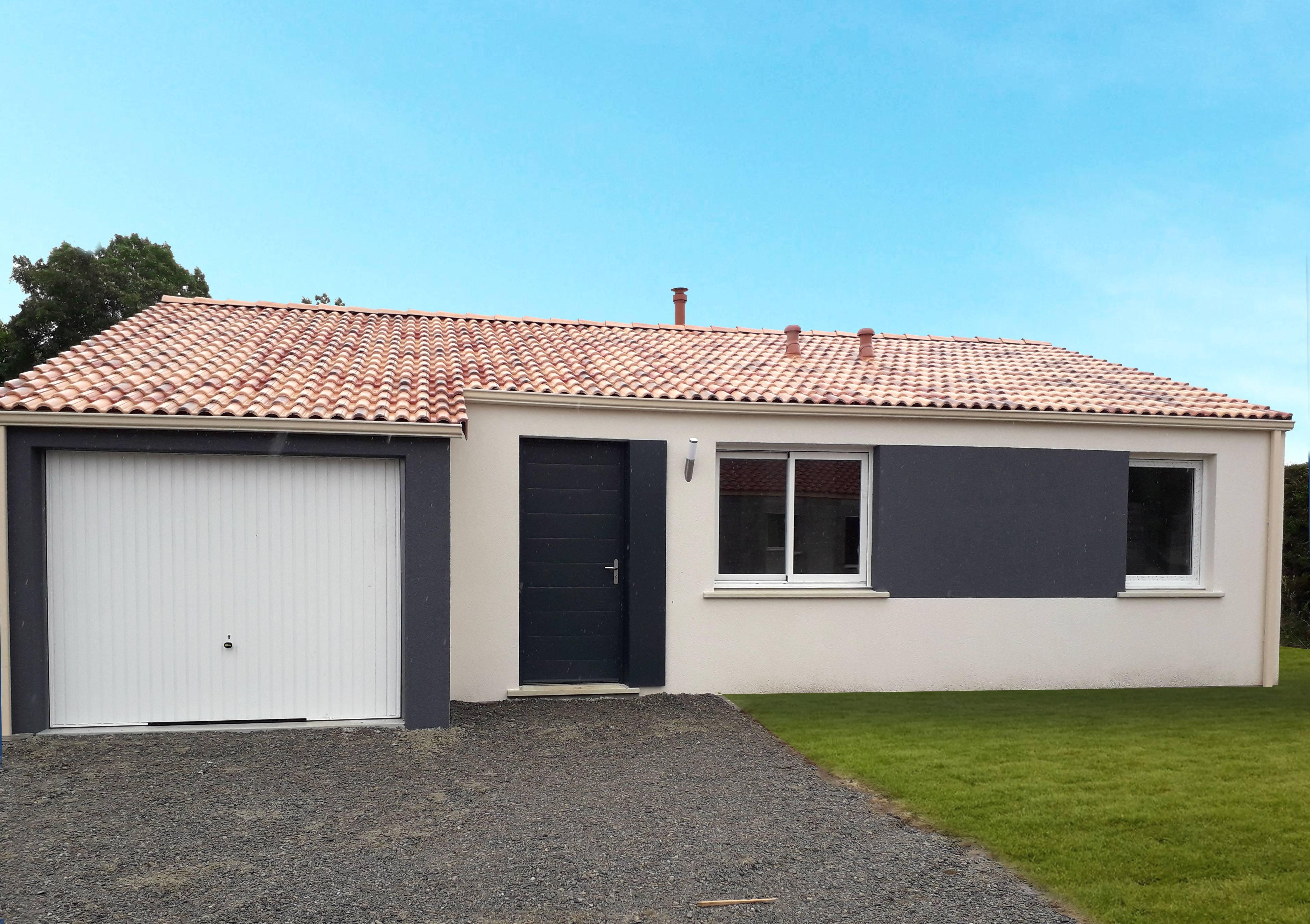 Maisons + Terrains du constructeur Maisons PHENIX Rochefort • 110 m² • ECHILLAIS