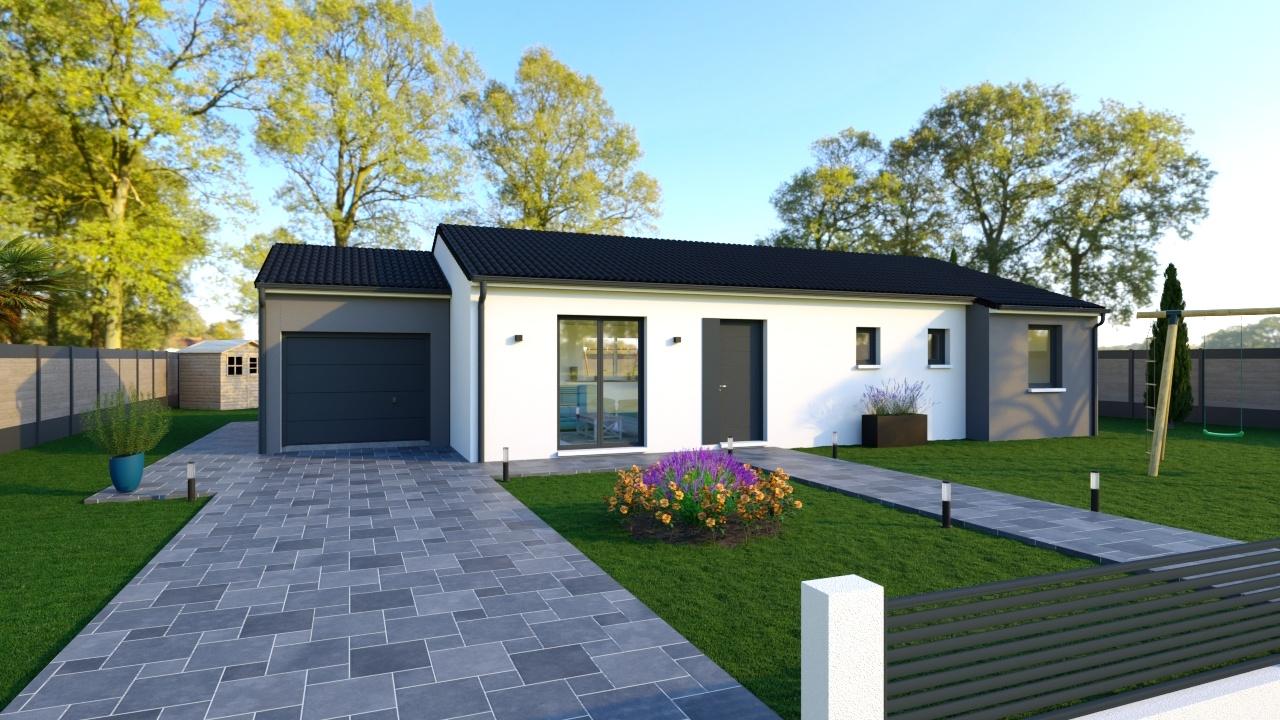 Maisons + Terrains du constructeur Maisons PHENIX Rochefort • 105 m² • LE THOU