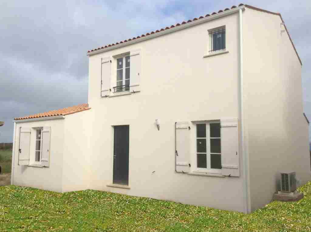 Maisons + Terrains du constructeur Maisons PHENIX Rochefort • 116 m² • SAINT JUST LUZAC