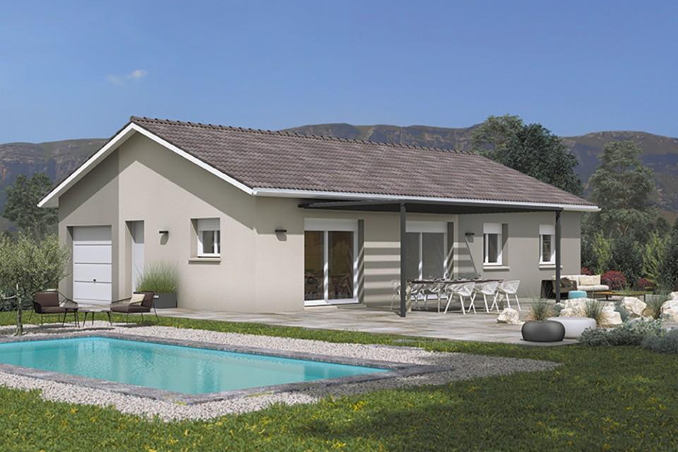 Maisons + Terrains du constructeur MAISONS FRANCE CONFORT • 100 m² • SULIGNAT