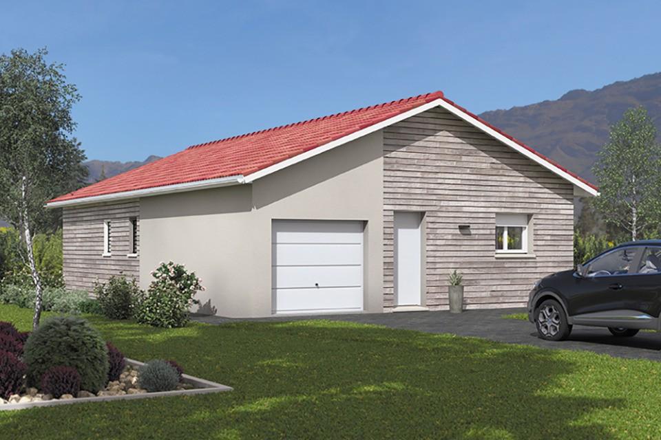 Maisons + Terrains du constructeur MAISONS FRANCE CONFORT • 90 m² • SAINT CYR SUR MENTHON
