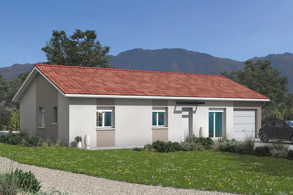 Maisons + Terrains du constructeur MAISONS FRANCE CONFORT • 100 m² • PONT D'AIN