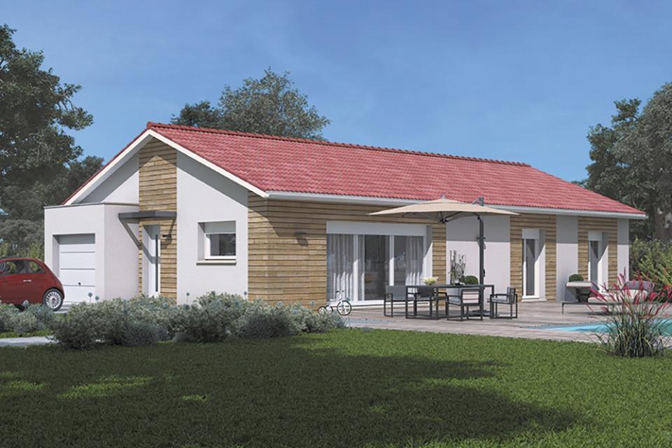 Maisons + Terrains du constructeur MAISONS FRANCE CONFORT • 100 m² • SAINT CYR SUR MENTHON
