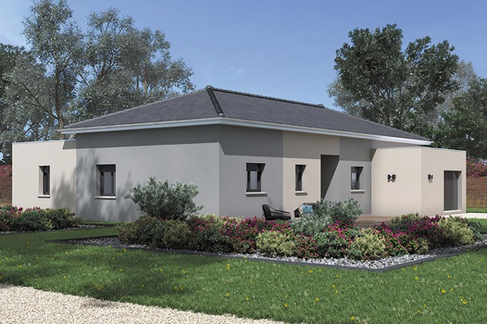 Maisons + Terrains du constructeur MAISONS FRANCE CONFORT • 120 m² • SAINT CYR SUR MENTHON
