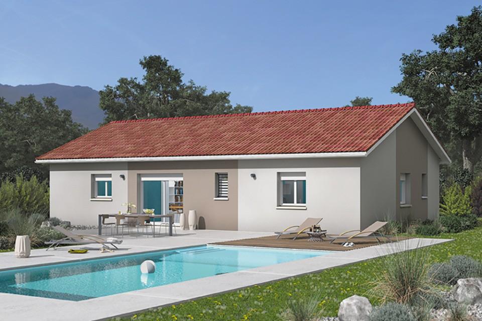 Maisons + Terrains du constructeur MAISONS FRANCE CONFORT • 84 m² • PONT D'AIN