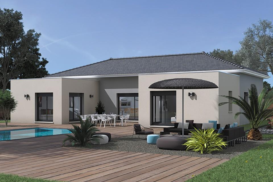 Maisons + Terrains du constructeur MAISONS FRANCE CONFORT • 140 m² • SAINT CYR SUR MENTHON