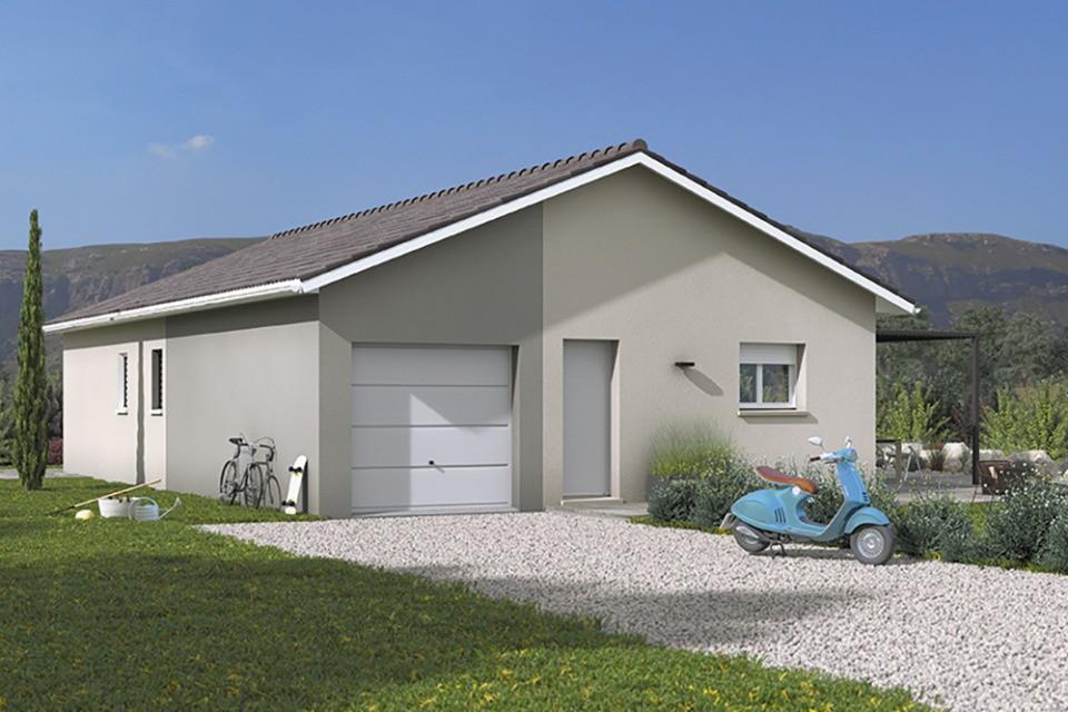Maisons + Terrains du constructeur MAISONS FRANCE CONFORT • 110 m² • SAINT CYR SUR MENTHON
