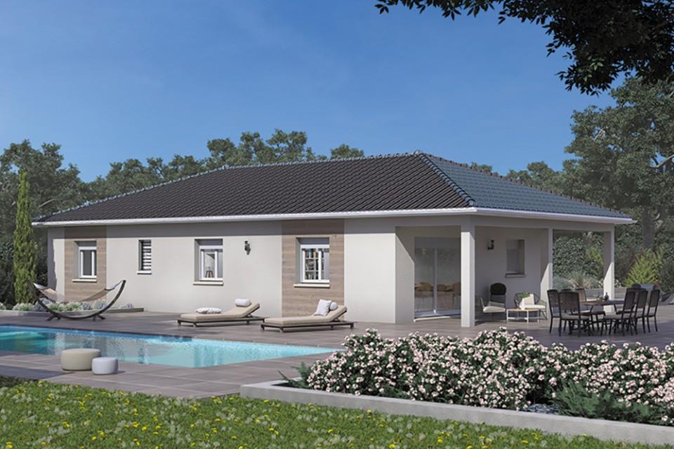 Maisons + Terrains du constructeur MAISONS FRANCE CONFORT • 90 m² • MEZERIAT