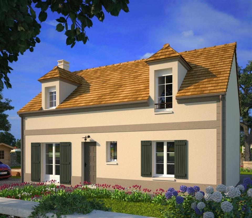 Maisons + Terrains du constructeur MAISONS FRANCE CONFORT • 102 m² • FREPILLON