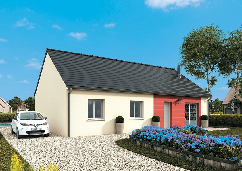 Maisons + Terrains du constructeur MAISONS FRANCE CONFORT • 95 m² • GOUSSAINVILLE