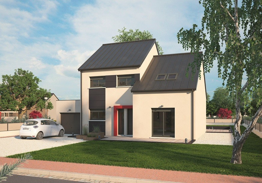 Maisons + Terrains du constructeur MAISONS BALENCY • 139 m² • SAINT CLAIR SUR LES MONTS
