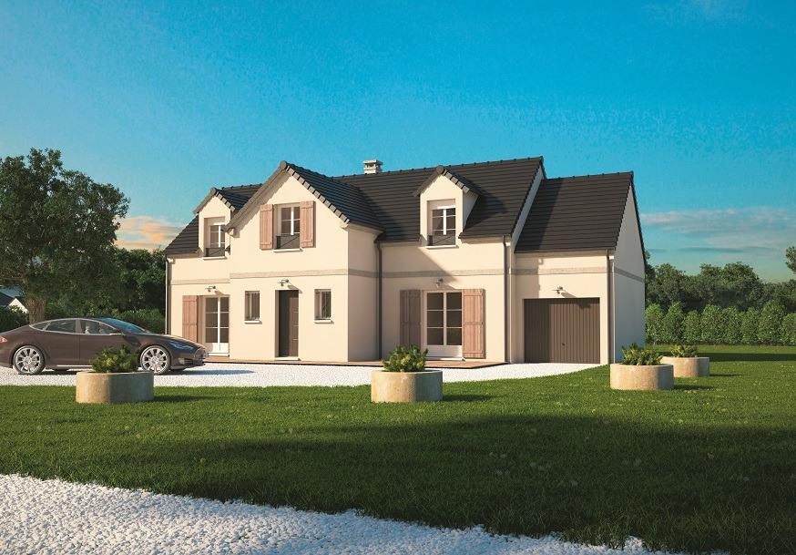 Maisons + Terrains du constructeur MAISONS BALENCY • 145 m² • ENVRONVILLE