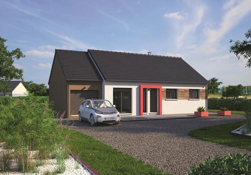 Maisons + Terrains du constructeur MAISONS BALENCY • 80 m² • AUZOUVILLE SUR RY