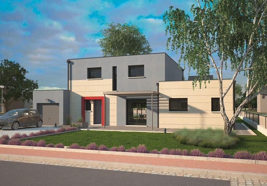Maisons + Terrains du constructeur MAISONS BALENCY • 125 m² • ROUVRAY CATILLON
