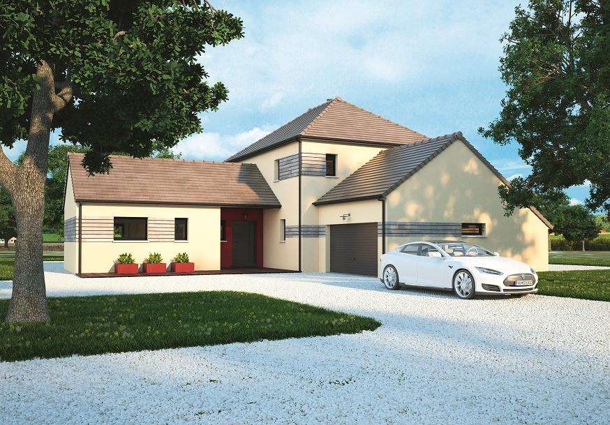 Maisons + Terrains du constructeur MAISONS BALENCY • 170 m² • ROUVRAY CATILLON