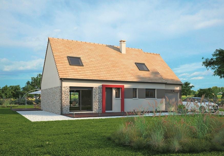 Maisons + Terrains du constructeur MAISONS BALENCY • 117 m² • LA HALLOTIERE
