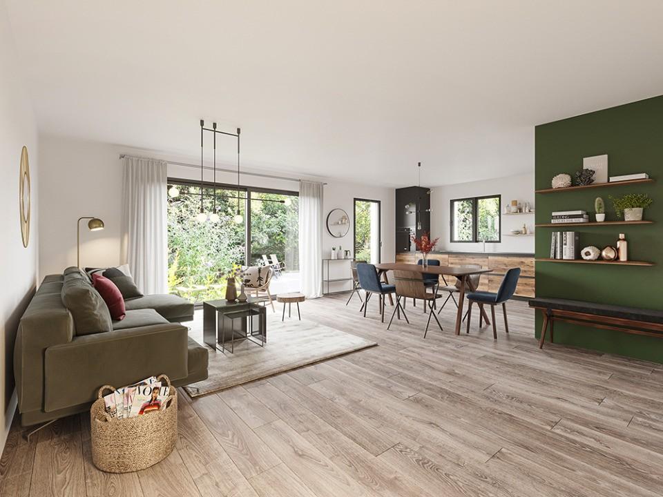 Maisons + Terrains du constructeur MAISONS FRANCE CONFORT • 105 m² • CUISERY