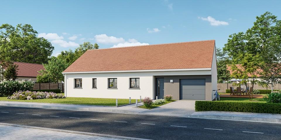 Maisons + Terrains du constructeur MAISONS FRANCE CONFORT • 110 m² • FARGES LES CHALON