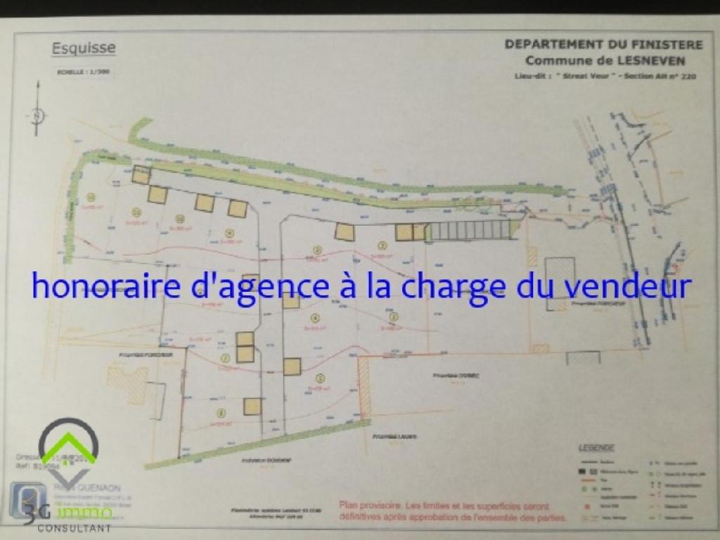 Terrains du constructeur 3G IMMO-CONSULTANT • 324 m² • LESNEVEN