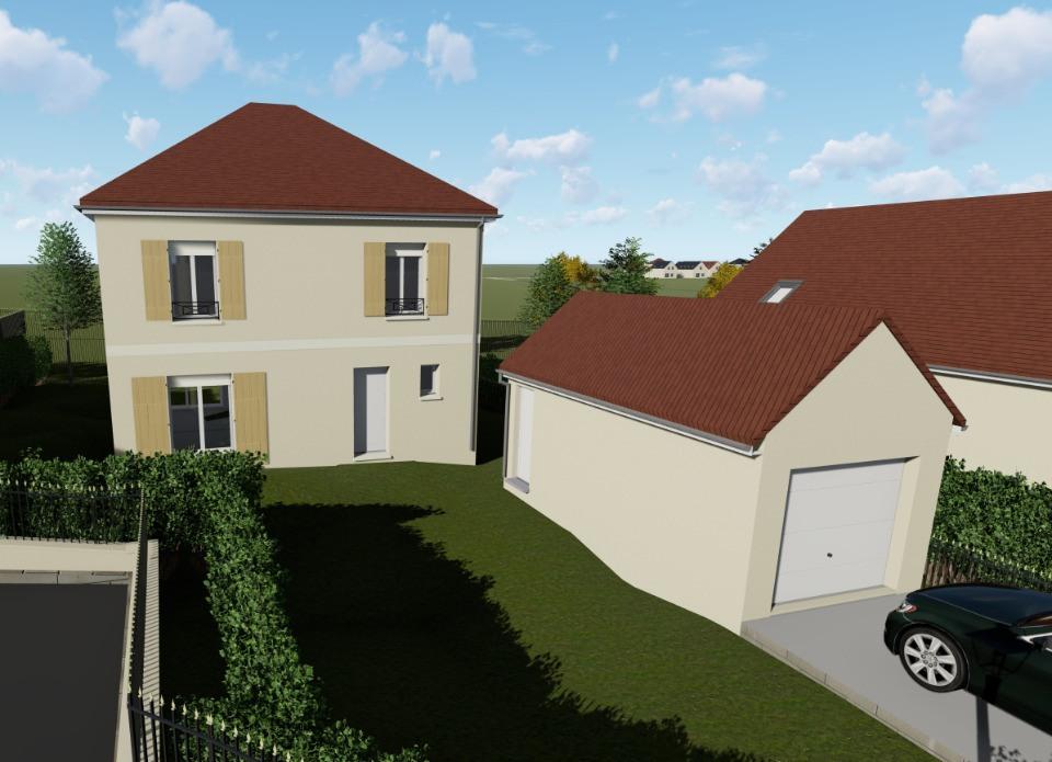 Maisons + Terrains du constructeur MAISONS FRANCE CONFORT • 81 m² • TACOIGNIERES