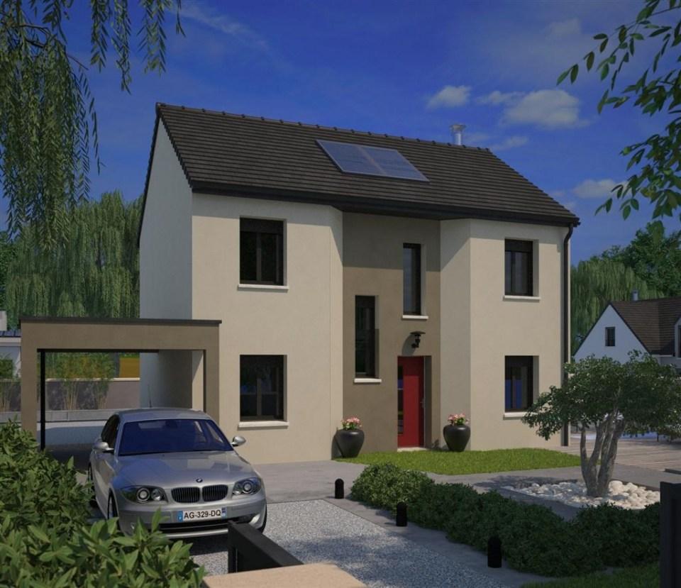 Maisons + Terrains du constructeur MAISONS FRANCE CONFORT • 98 m² • LE MESNIL SAINT DENIS
