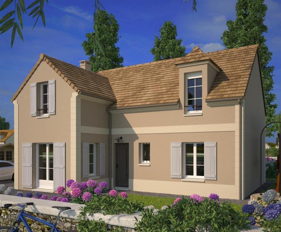 Maisons + Terrains du constructeur MAISONS FRANCE CONFORT • 117 m² • SAINT LEGER EN YVELINES