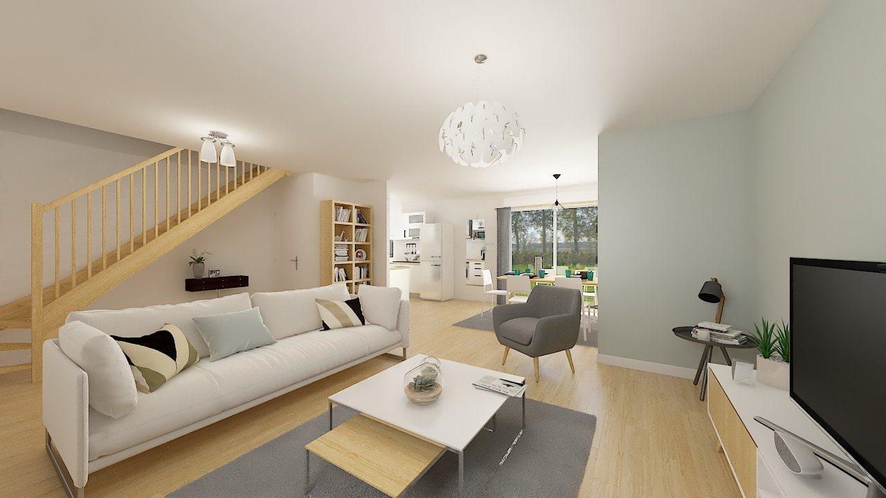 Maisons + Terrains du constructeur MAISONS PHENIX • 84 m² • LE FAY SAINT QUENTIN