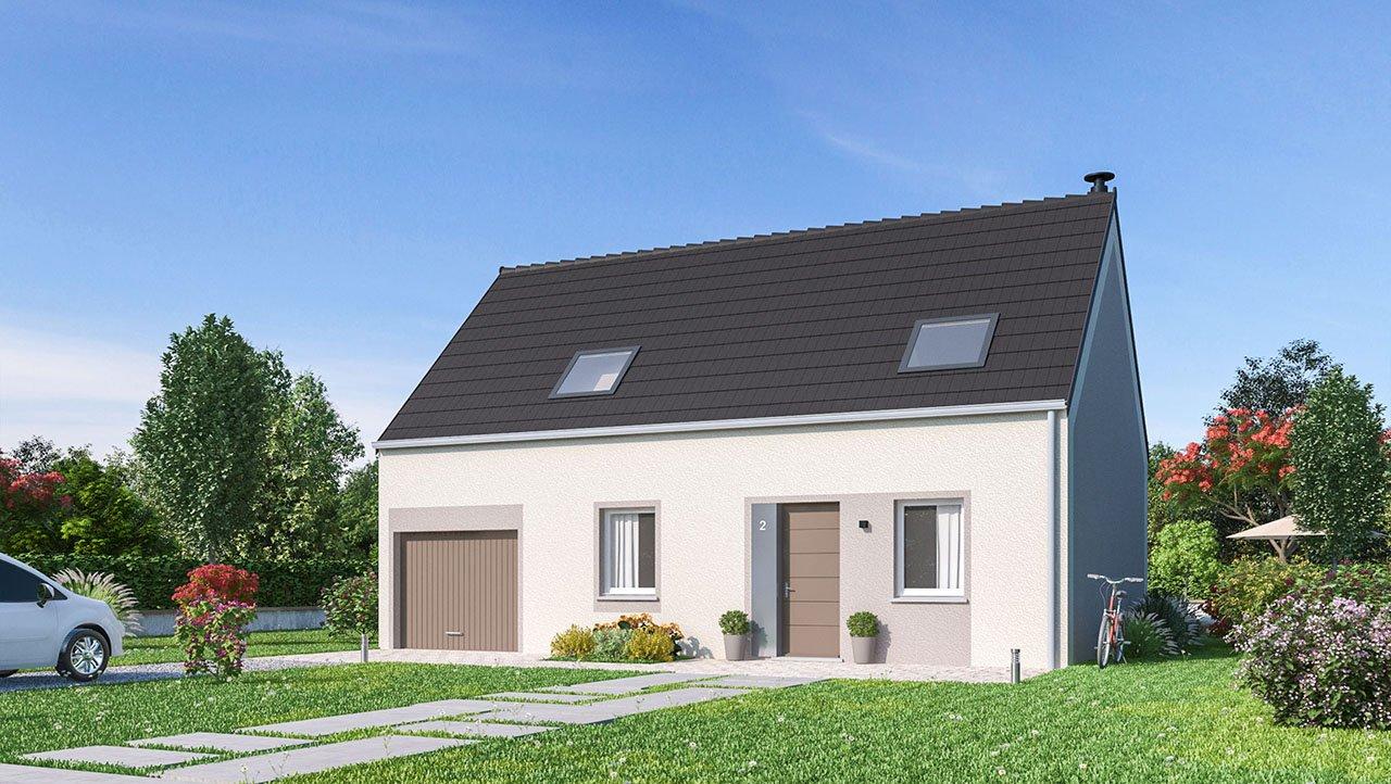Maisons + Terrains du constructeur MAISONS PHENIX • 105 m² • BACHIVILLERS