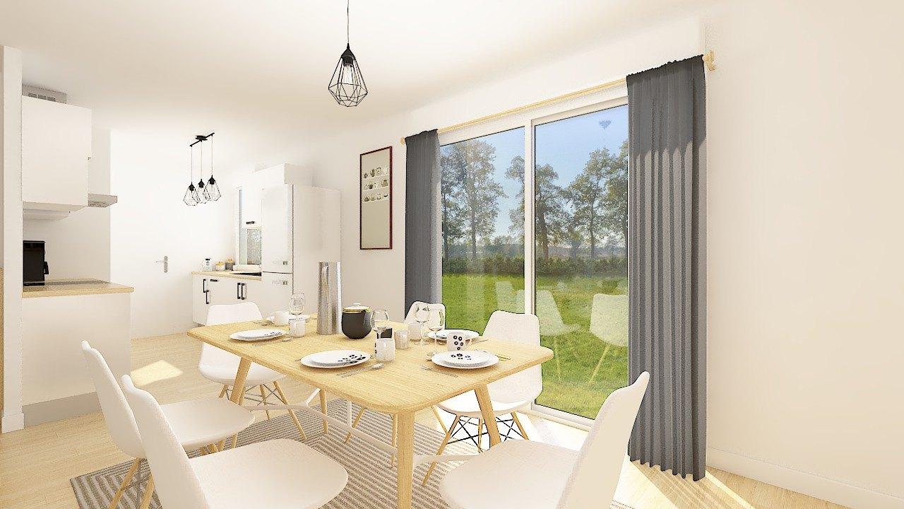 Maisons + Terrains du constructeur MAISONS PHENIX • 84 m² • ABBECOURT