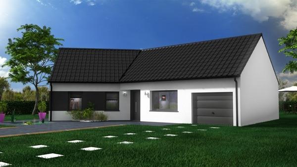 Maisons + Terrains du constructeur MAISON CASTOR • 95 m² • FROHEN LE PETIT