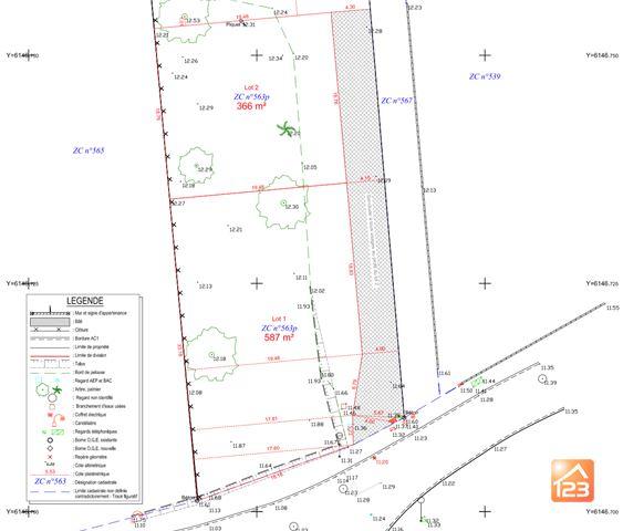 Terrains du constructeur 123WEBIMMO.COM • 587 m² • JARD SUR MER