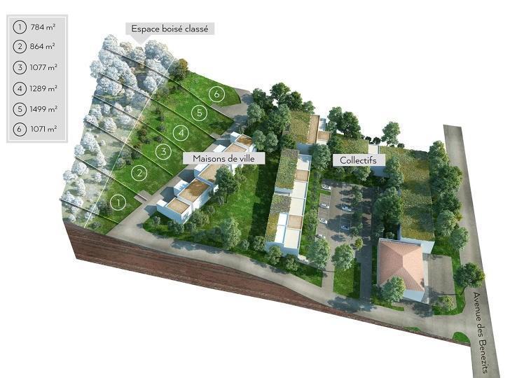 Terrains du constructeur CREDIT AGRICOLE IMMOBILIER PROMOTION • 0 m² • LA BOUILLADISSE